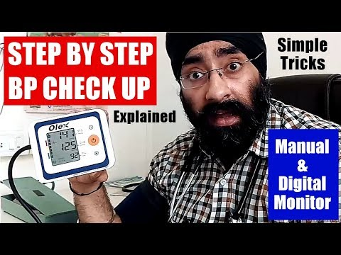Rx BP #19 - Wrong & Correct way of Blood pressure measurement | by Manual & Digital | Dr.EDUCATION