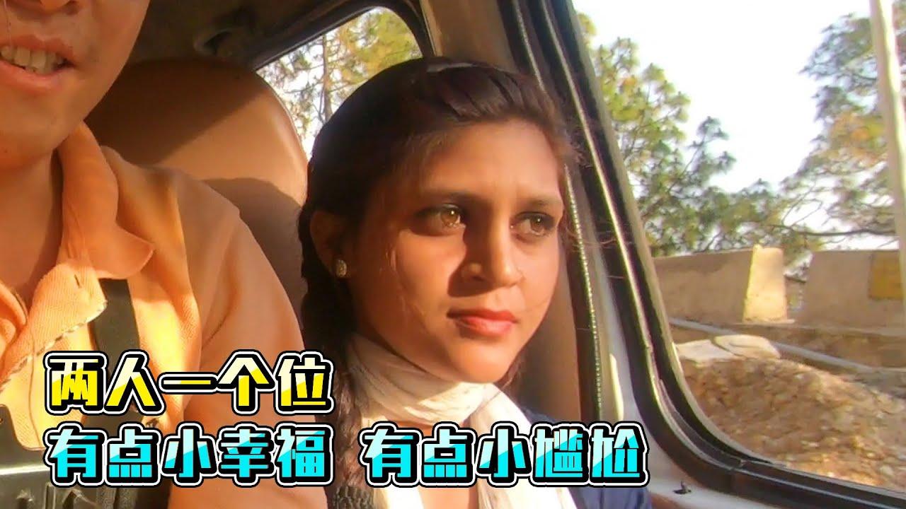 【印度旅行13】印度北部深山里,遇到1个美若天仙的姑娘,不想离开了  This Indian girl very beautiful , I want live here