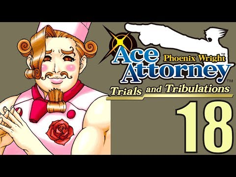 Phoenix Wright Ace Attorney: TaT -18- STRANGE MEN