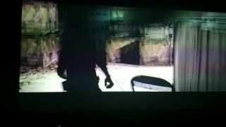 The Evil Within on Benq W6000 Projector