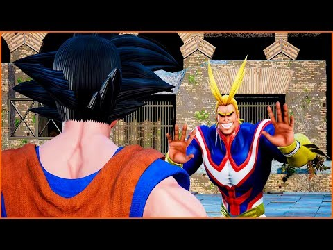 Goku Thinks All Might is Evil | Jump Force Game |