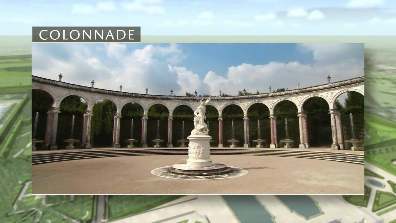 Reconstitution 3d les jardins du ch teau de versailles for Jardin de versailles