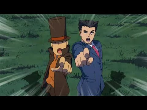 Make Professor Layton vs. Ace Attorney #34 ~ Epilogue - The First Story (4/4) Pictures