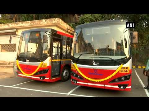 Mumbai BEST goes green, introduces electric buses in its fleet - ANI News