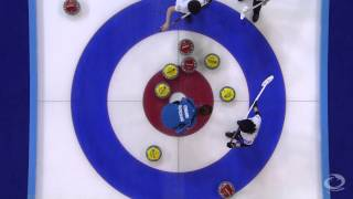 CURLING: GER-JPN Olympic Qual 2013 Women Draw 5 HIGHLIGHTS