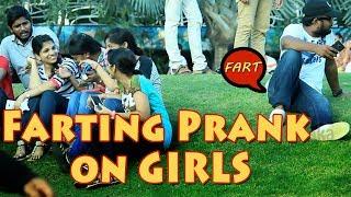 Farting on GIRLS Prank in Hyderabad | Funny Farting Prank | Pranks in India | FunPataka