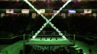 Smackdown Vs Raw 2010: Rated RKO vs DX World Tag Team Championship 1/2