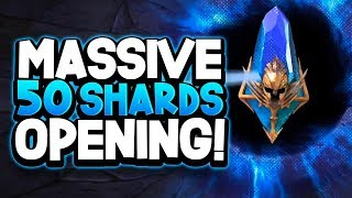 "RAID: Shadow Legends MASSIVE 50 ANCIENT SHARD OPENING ""ANOTHER LEGENDARY!?"""