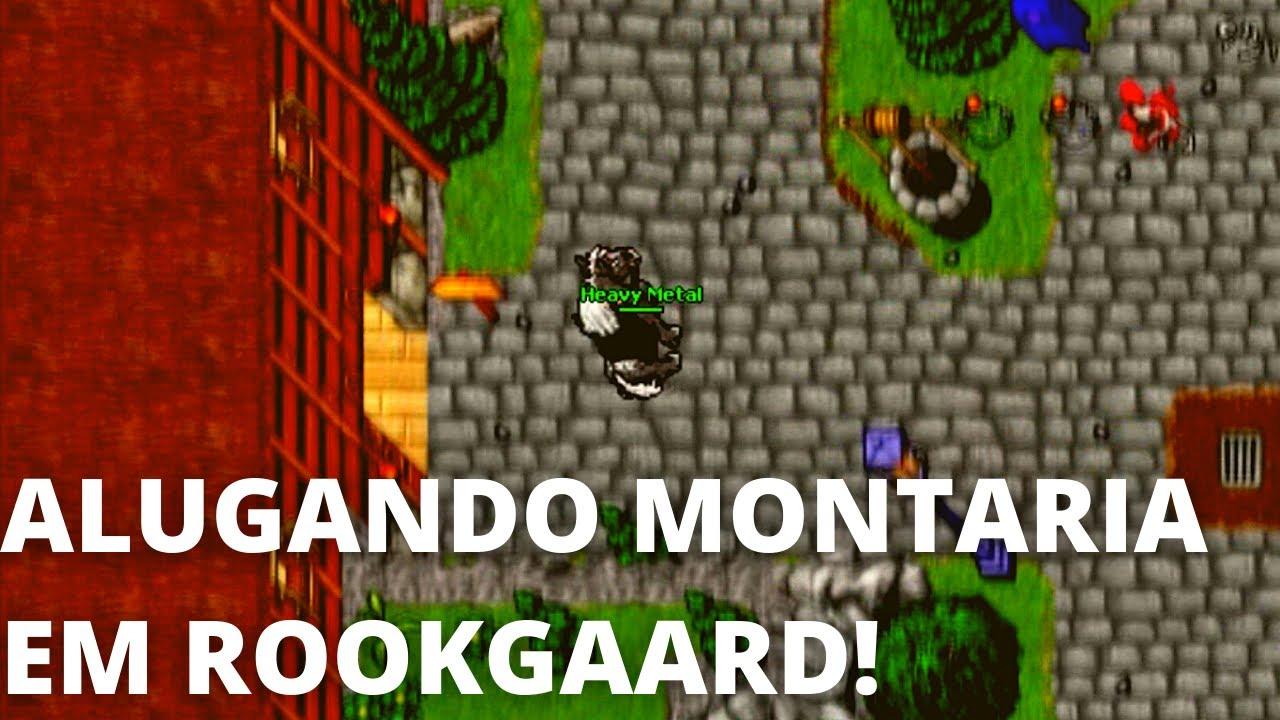 Finalmente! Alugando MONTARIA em ROOKGAARD! (Rookgaard Tales)
