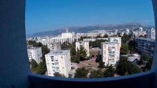 Split-pogled na more i otoke Brač,Šoltu i Vis s moje terase(, 2016-09-15T15:03:49.000Z)