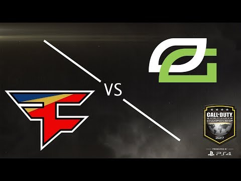 Optic Gaming vs FaZe Clan - CWL Championship 2017 - Day 4