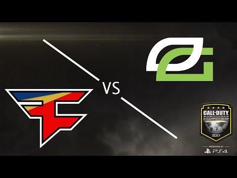 Optic Gaming vs FaZe Clan - CWL Championship 2017 - Day 4