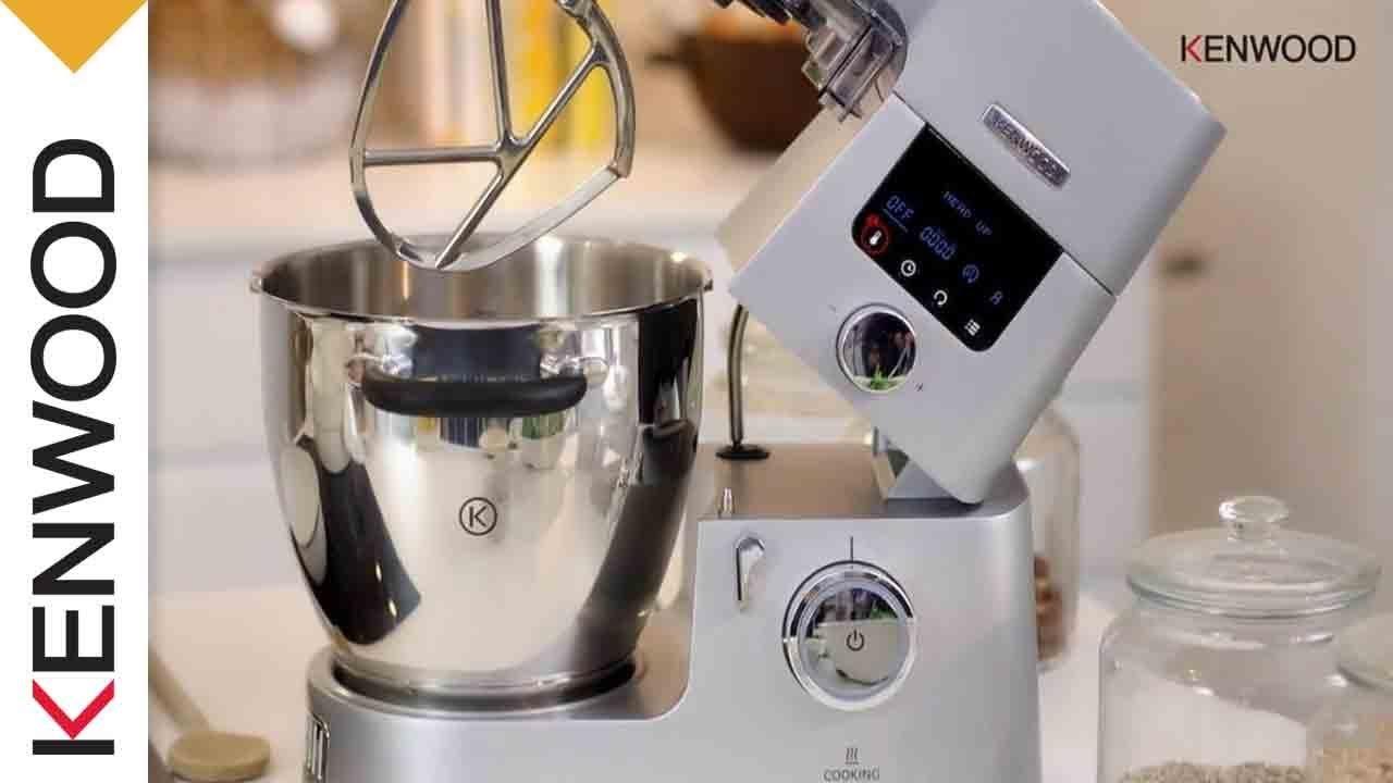 küchenmaschine kenwood cooking chef vorstellung