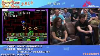 Summer Games Done Quick 2014 - Part 31 - Sonic Advance 2