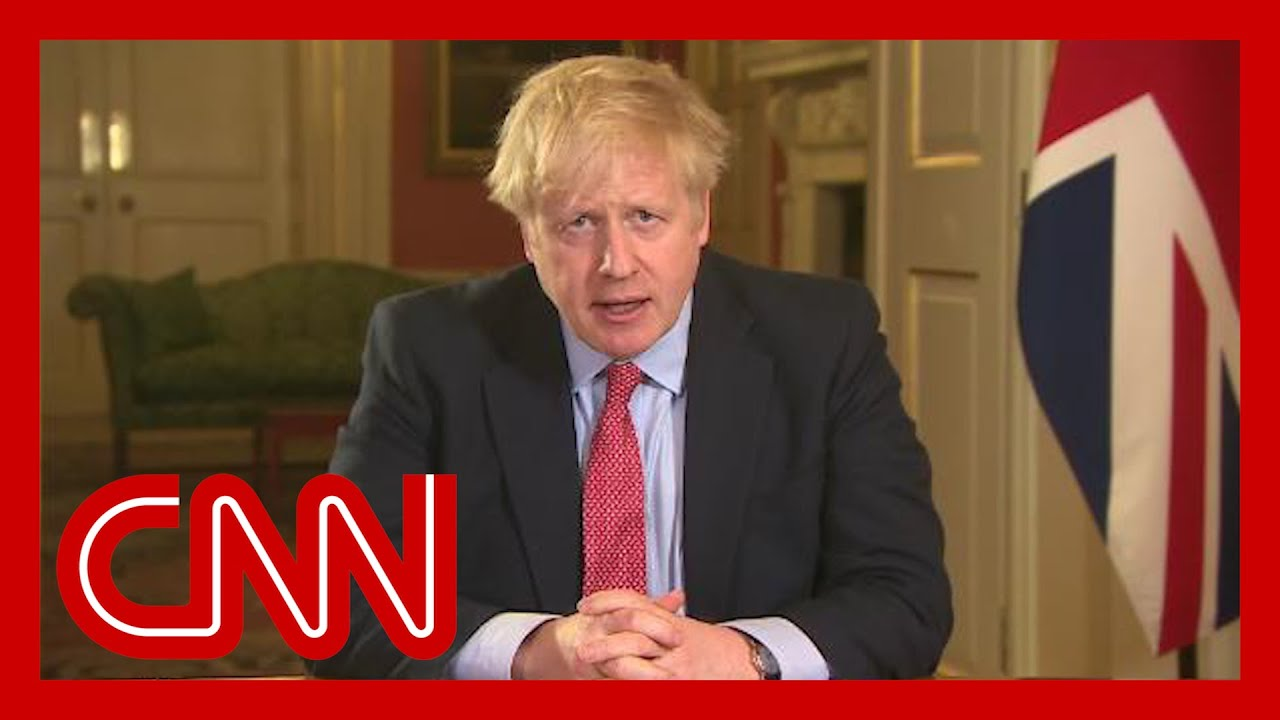 Boris Johnson issues stay-at-home order for UK to fight coronavirus pandemic
