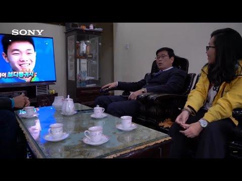Cùng Sony ghé thăm gia đình cầu thủ Lương Xuân Trường