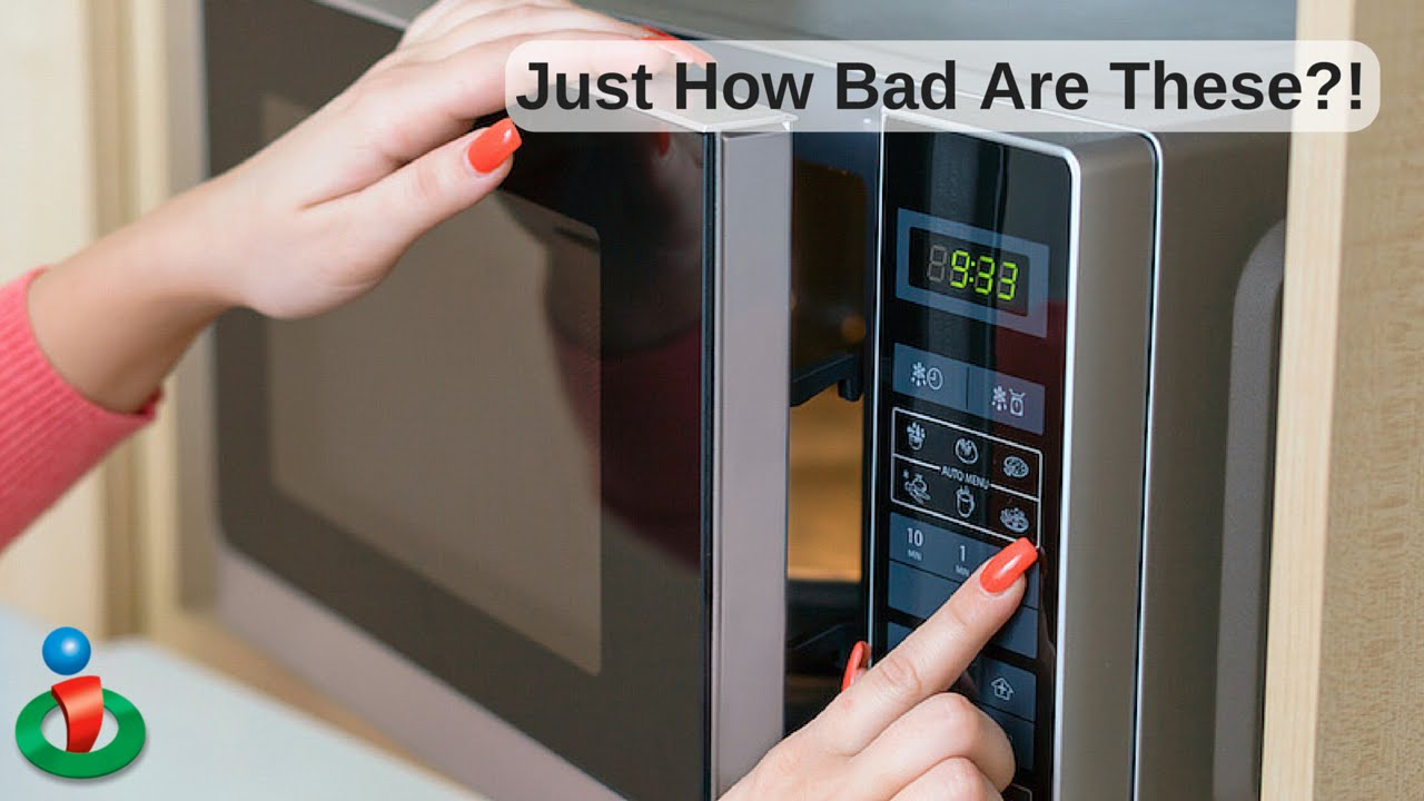 Microwaves Damage Food But Something Worse Revealed At 1 05 Of This Video