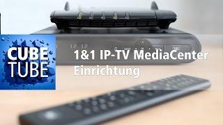 1&1 IP-TV MediaCenter anschließen und einrichten