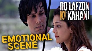 Kajal Aggarwal tells Randeep Hooda How Her Parents Died | Do Lafzon Ki Kahani | Emotional Scene | HD