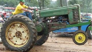 John Deere 2 Cylinder Tractor Pull Overload thumbnail