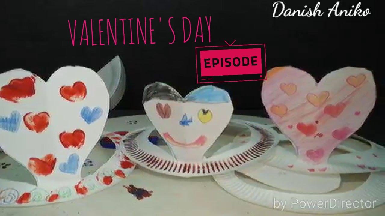 SIMPLE VALENTINE\u0027S DAY PAPER PLATE HAT Craft Ideas For Toddler n Kids | PINTEREST TEST | KID vs PIN - YouTube : paper plate hat ideas - pezcame.com