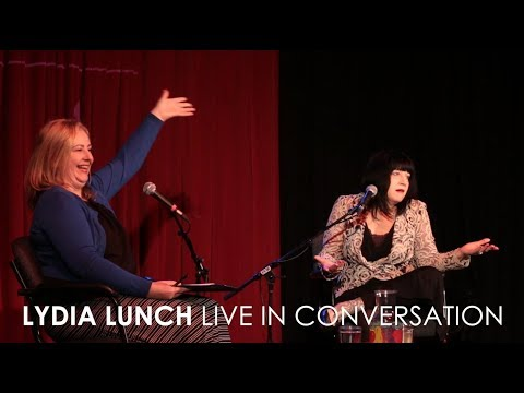 Lydia Lunch  In Conversation with Elizabeth McCarthy Live at 3RRR