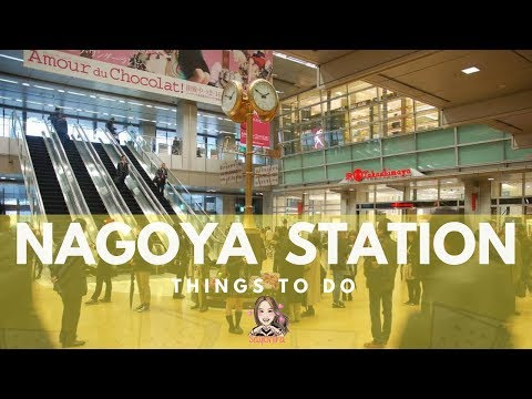 NAGOYA || EP 5 || So many things to do in NAGOYA STATION!!