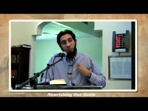 Nourishing Our Souls With The Quran - Nouman Ali Khan
