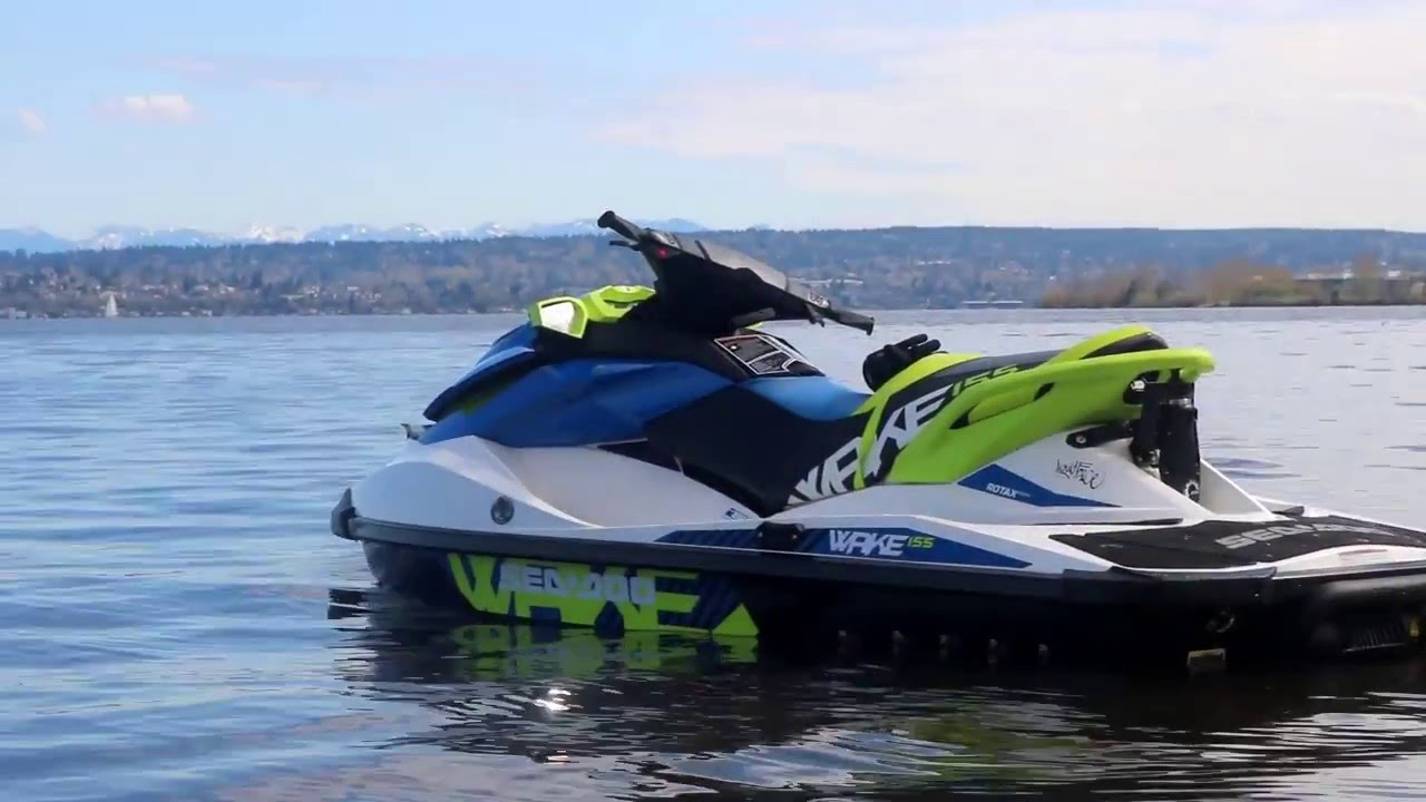 2016 Sea Doo Wake 155 Maiden Voyage