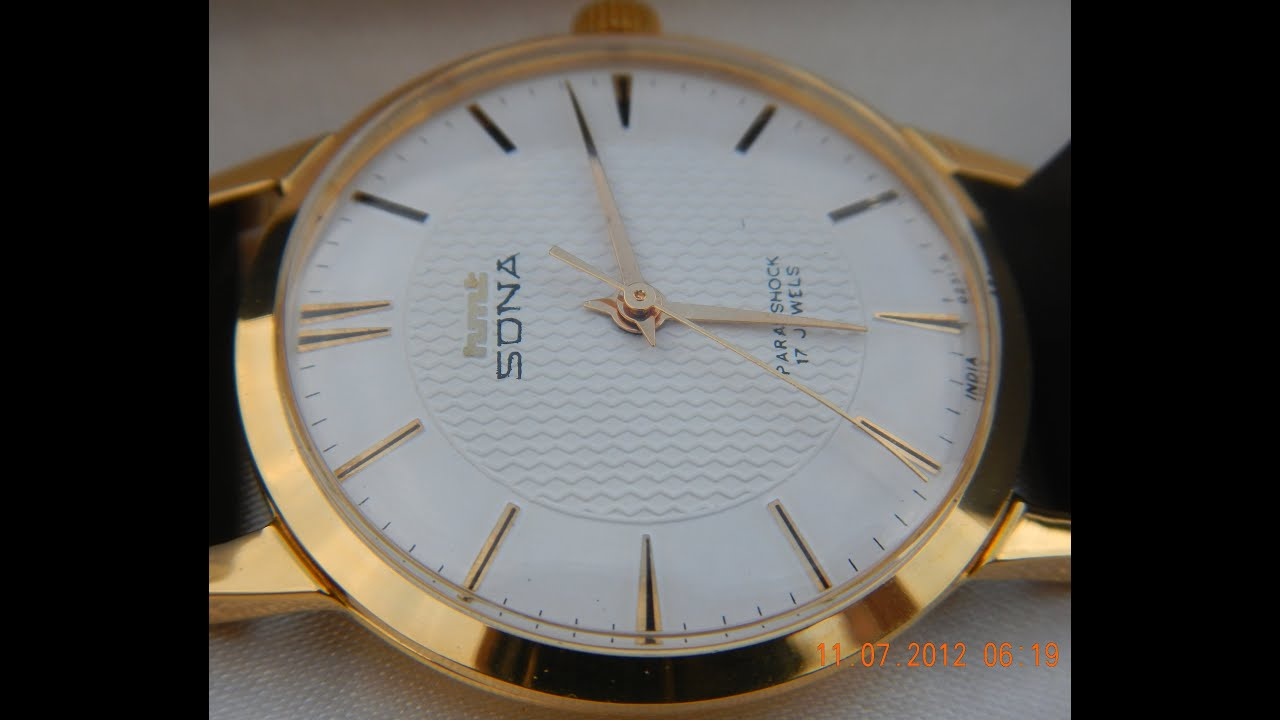 tictail jewels watch collectible sona authentic golden watches dial new hmt mens uberjewels uber brand rare men s