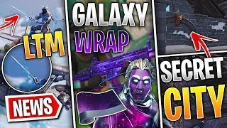 Fortnite News | Galaxy Skin Gun Wrap, Sword Event + Sounds, Secret Buried Village & More!