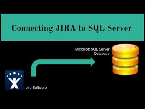 Connecting Jira to SQL Server Database