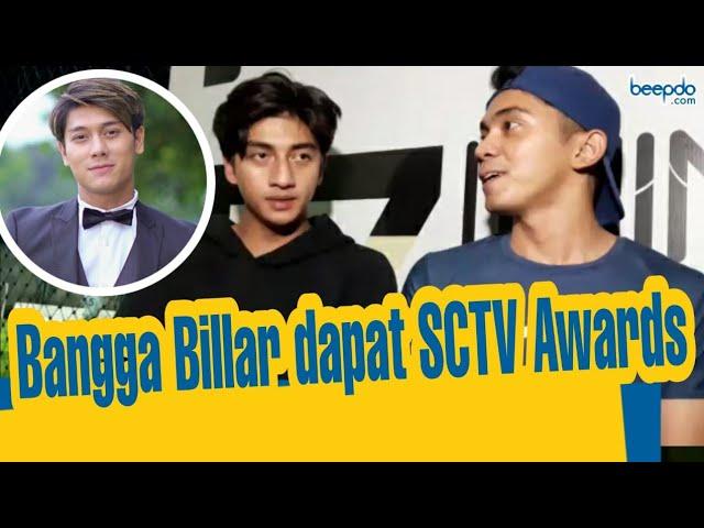 Harris Vriza dan Ady Sky Bangga Rizky Billar Raih Penghargaan SCTV Award