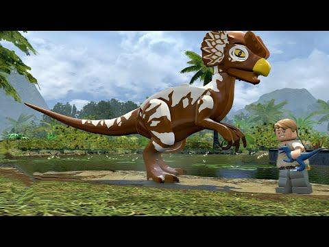 Лего Парк Юрского Периода.Новый Динозавр.Мультики про Динозавров.Lego Jurassic World.#Lego