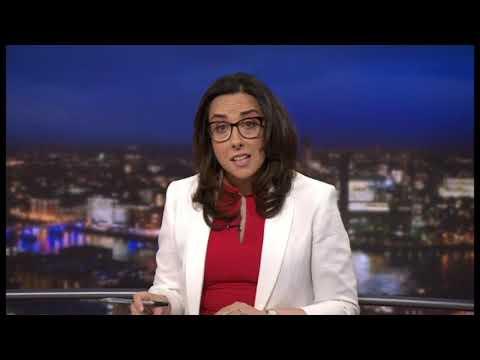 NZ Terror Attack News Conference Upsum - BBC World News/News Channel