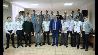 Чемпионов Оренбуржья по футболу чествовали на ММСК