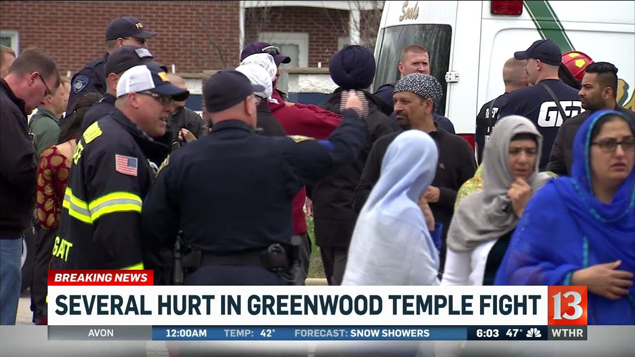 150 Involved In Brawl During Ceremony At Greenwood, Indiana