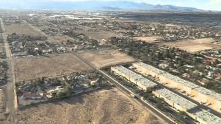 "Landing Las Vegasラスベガス国際空港着陸(16'27"")"