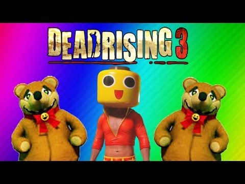Thumbnail: Dead Rising 3 Funny Moments Gameplay 2 - Teddy Bear, RollerHawg, Electric Crusher, Football Zombies