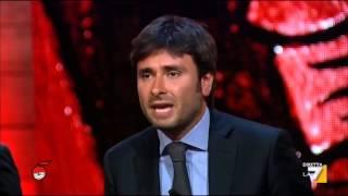 Di Battista (M5S) vs Alfano: