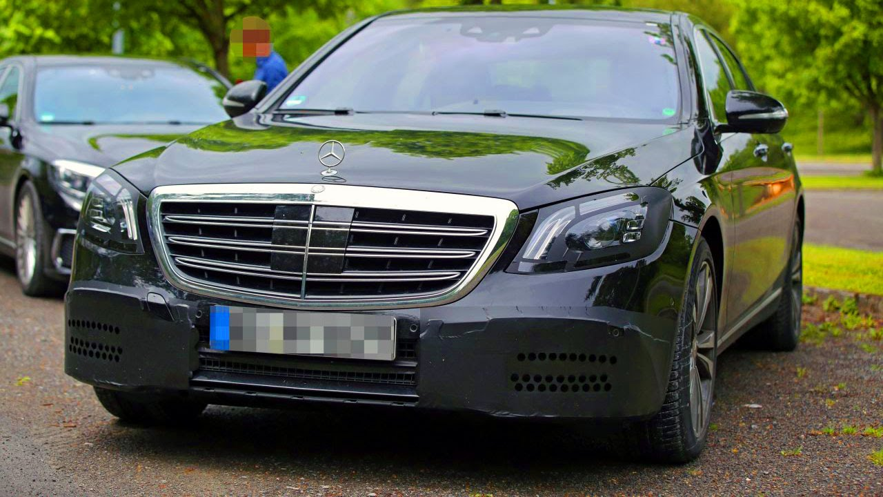 Mercedes S class 2017 - facelifting w222 #mercedessclass - YouTube
