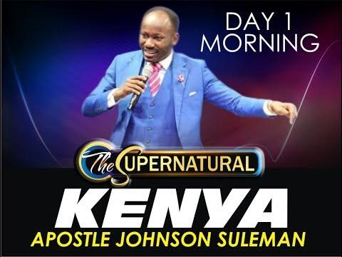 The Supernatural - Nairobi Kenya - Day 1 Morning Session.
