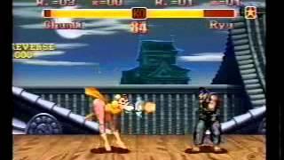 Japanese SNES Super SFII Kokugikan Tournament