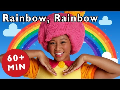 Rainbow, Rainbow and More | Nursery Rhymes from Mother Goose Club!