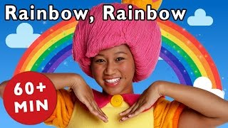 Rainbow, Rainbow and More | Nursery Rhymes from Mother Goose Club! thumbnail