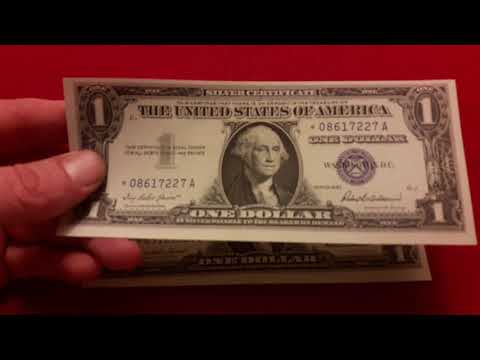 1957 Epic Silver Certificate Star Error Notes!! Amazing Rare US Dollar Bills That Should Not Exist!