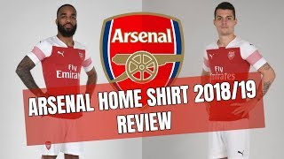 ARSENAL HOME KIT 2018/19 - LET'S SEE IF THIS LOOKS BETTER THAN THE PICTURES SUGGEST!