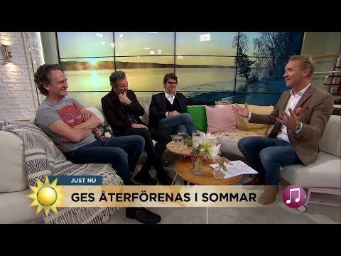 Därför återförenas GES i sommar! - Nyhetsmorgon (TV4)