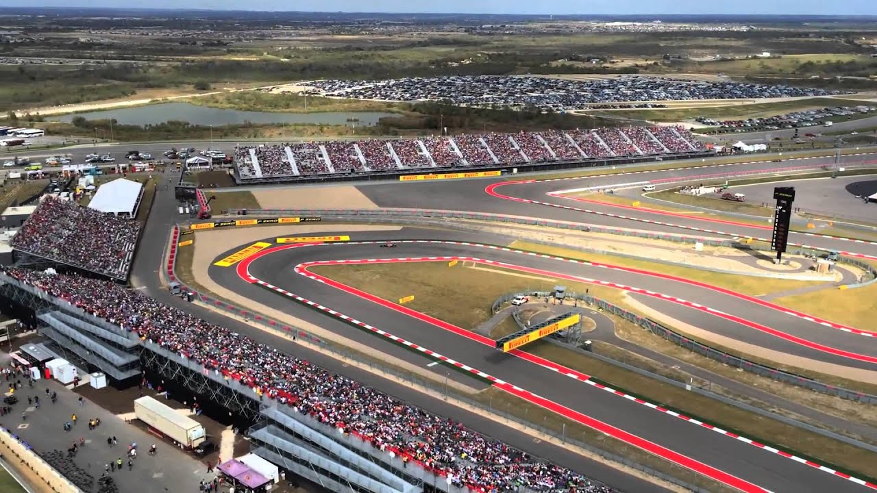 Circuit Of The Americas Observation Tower During The