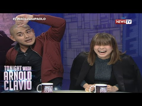 Tonight with Arnold Clavio: Ang funny love story nina LJ Reyes at Paolo Contis